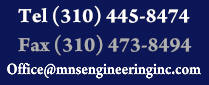 MNS Engineering (310) 445-8474   Residential Building Systems Design Consulting Company